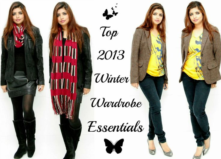 I am bit late on making list for this winter as the season is already on it's peak but we ladies need any damn excuse to go for shopping and splurge some money :).Today's Winter Wardrobe Essentials List cover us right from shoes to accessories to main pieces of clothing , which we would need to make a style statement.  http://www.spiceupboringlife.com/2013/12/top-2013-winter-wardrobe-essentials.html