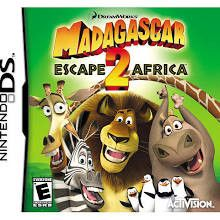 Madagascar Escape 2 Africa [DS Game]