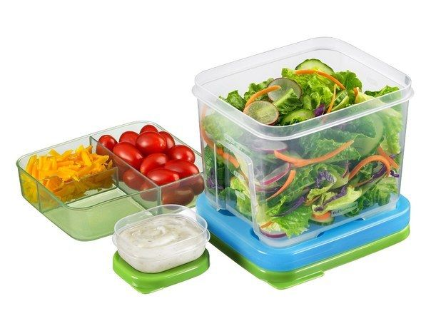 Salad Lunchbox Tupperware | 21 Kitchen Gadgets That Actually Help You Eat Healthier
