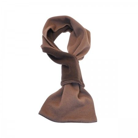 Lacrom Store || alyki, choker, cashmere  Bicolored choker. Plain knit scarf in pure cashmere. The scarf is two-colored: one side it is dark brown, on the other it is light brown.