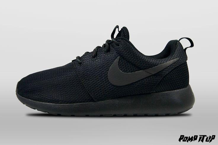 Nike Roshe One (BLACK/BLACK-ANTHRACITE) For Women Sizes: 36 to 42 EUR Price: CHF 115.- #Nike #NikeRosheOne #RosheOne #Sneakers #SneakersAddict #PompItUp #PompItUpShop #PompItUpCommunity #Switzerland