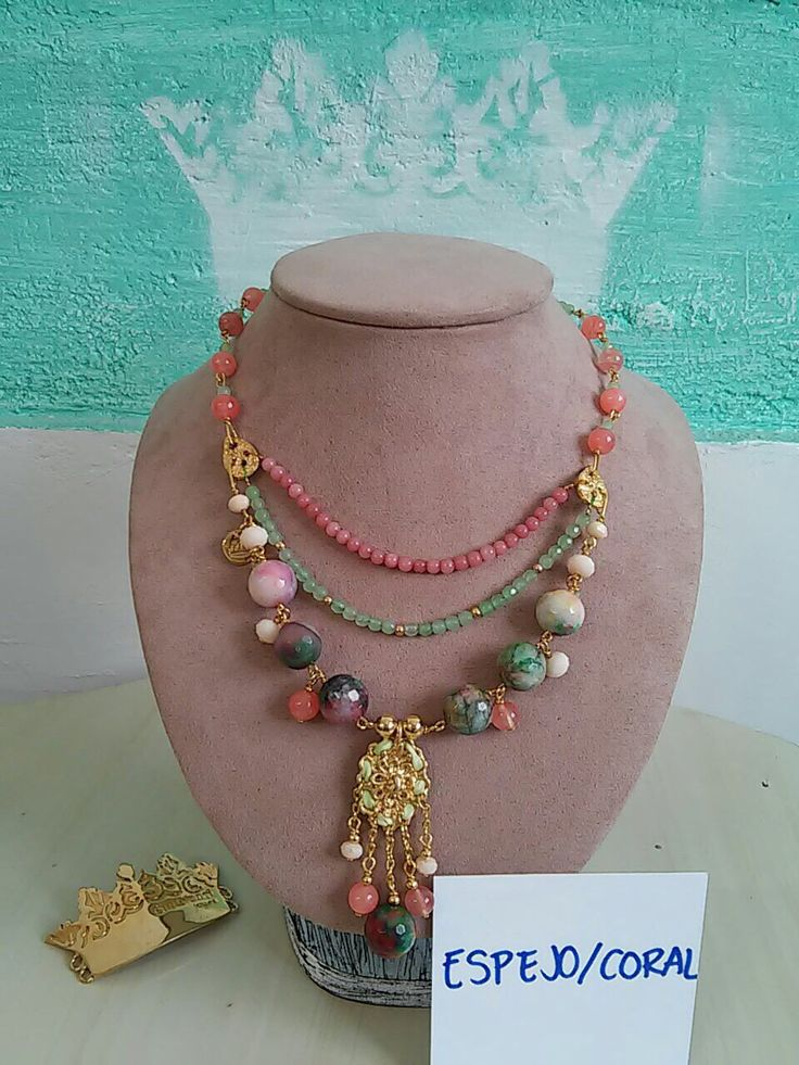 1000 images about collares on pinterest tassels bead for Piedras naturales