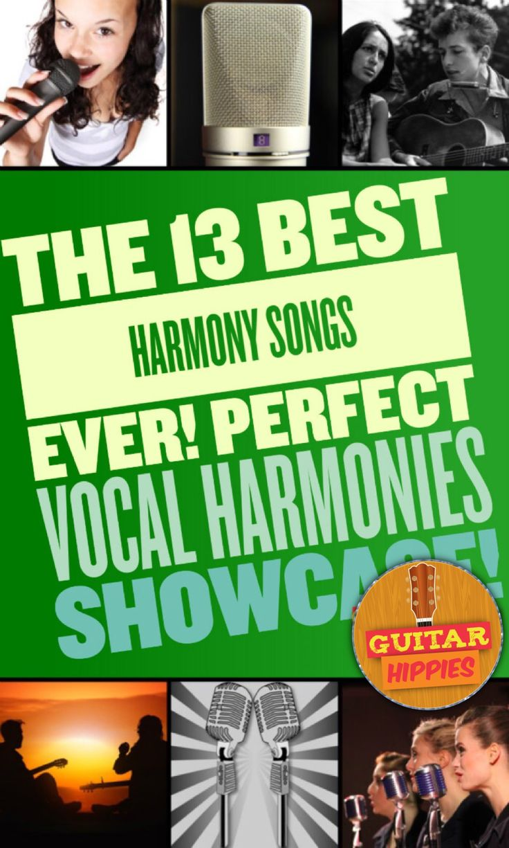 Best Harmony Songs on GuitarHippies - top harmony songs