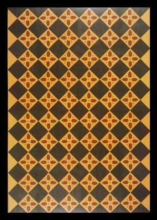 Floorcloth Pinecone