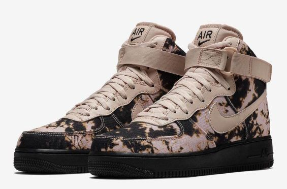 low priced e32d0 e3b1f Acid Wash Print Covers The Nike Air Force 1 High In Two Colorways Are you a