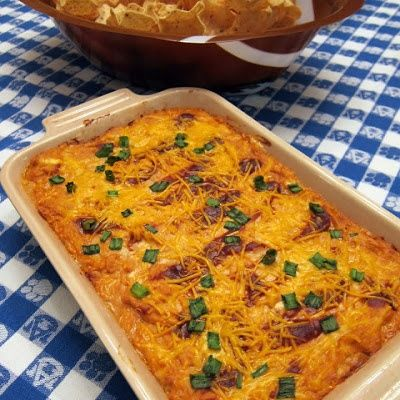 BBQ Chicken Dip #Recipe #Food #Dinner