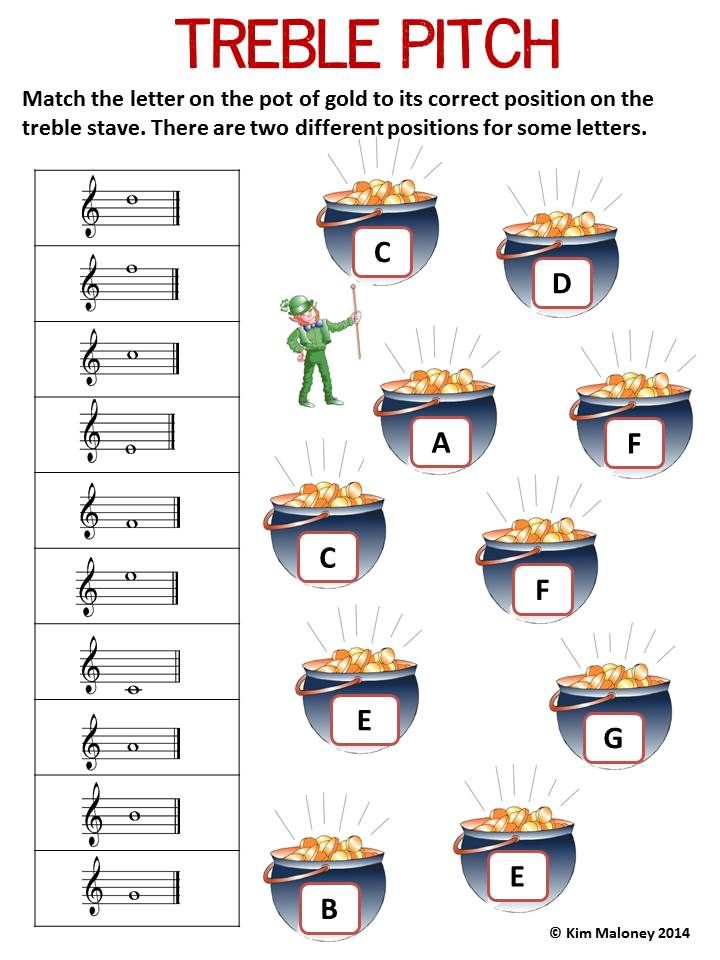 24 music worksheets covering the following music concepts: 1. Names of Notes and Rests (4 worksheets but TWO versions. One set using North American terminology and the other using British Terminology) 2. Treble Pitch 3. Bass Pitch 4. Alto Pitch 5. Music Signs and Symbols        #Musiceducation      #musedchat