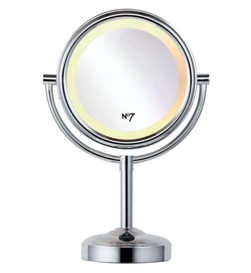 No7 Illuminated Make-up Mirror - Exclusive to Boots - Boots