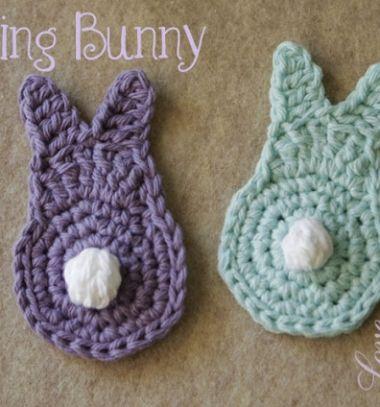 Quick crocheted spring bunnies // Egyszerű horgolt nyuszik maradék fonálból //  Mindy -  kreatív ötletek és dekorációk // #easter #eastercraft #crocheting #crochetpattern #nyuszi #horgolás #húsvét #bunny