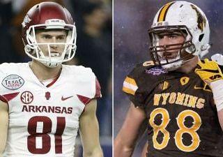 Patriots sign Arkansas WR Cody Hollister and his twin, Wyoming TE Jacob Hollister. #codyhollister #jacobhollister #newenglandpatriots #patriots #nodaysoff #gottabelieve #blitzforsix #doyourjob