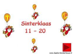 Digibordles: Echt een digibordles voor groep 2 kinderen. Sinterklaas cijfers van 11 tot en met 20. http://digibordonderbouw.nl/index.php/themas/sinterklaas/groep1/viewcategory/353
