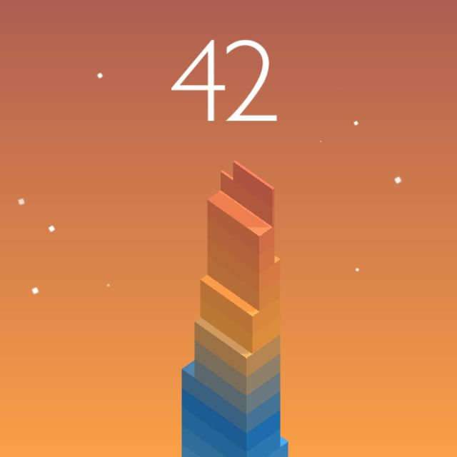 I scored 42 points in #Stack https://itunes.apple.com/app/stack/id1080487957