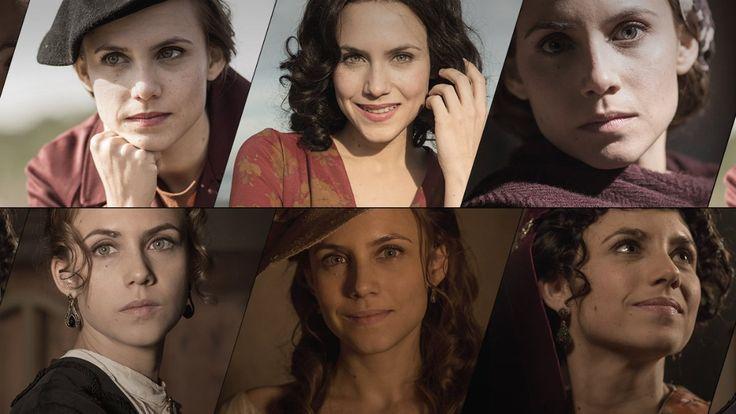 Aura Garrido as Amelia Folch - El Ministerio del Tiempo