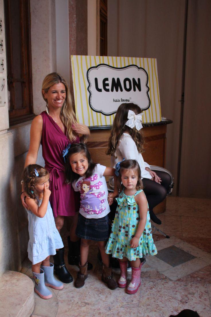 Sofia Jardim e as 3 filhas