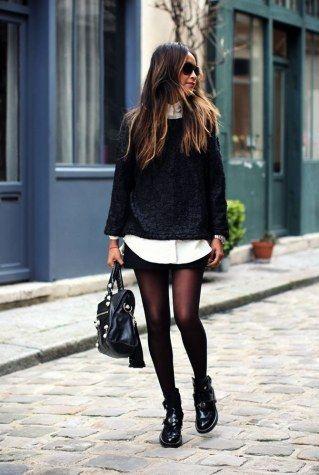 Herbstoutfit mit Shorts – fashion