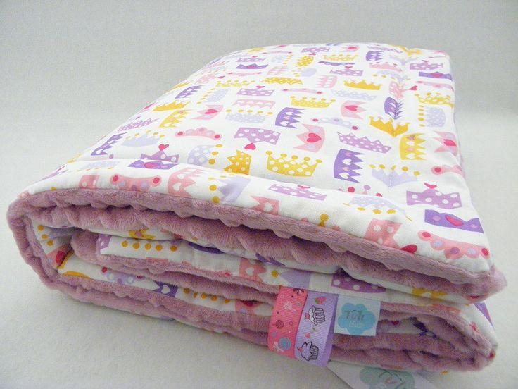 kocyk minky księżniczka korona babyblanket princess #kocykminky #kocykdlaksiężniczki http://sklep.tulibuzi.pl/index.php?id_product=210&controller=product
