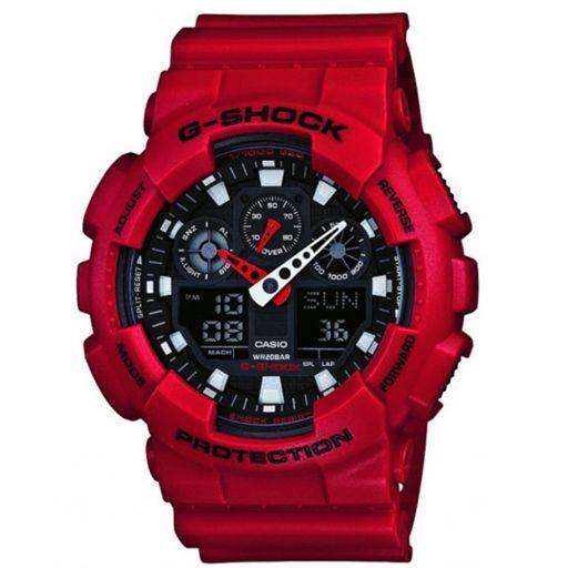 G-Shock GA100 Watch (Red) $99.95