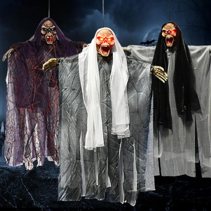 Halloween Party Decorations Horror Layout Crawling Ghosts