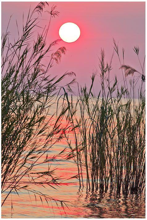 Západ slunce nad jezerem Tanganjika, Tanzánie