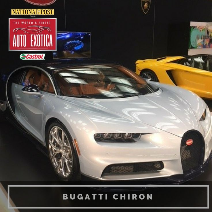 """194 Likes, 2 Comments - Canadian Intl AutoShow (@cdnintlautoshow) on Instagram: """"Bugatti Chiron, part of the Auto Exotica display at the 2018 Canadian International AutoShow.…"""""""