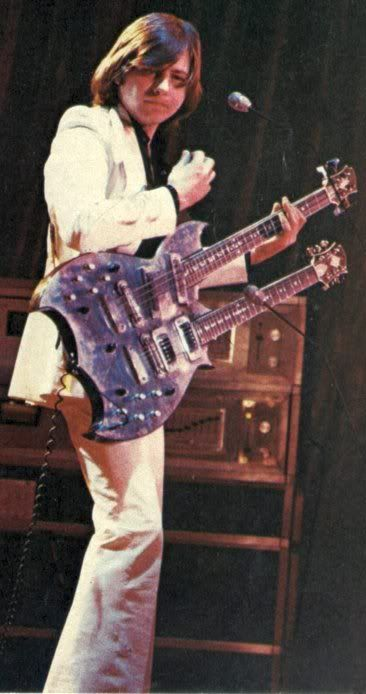 Greg Lake: King Crimson / ELP...known mostly for his bass playing, he was also a fabulous guitarist..