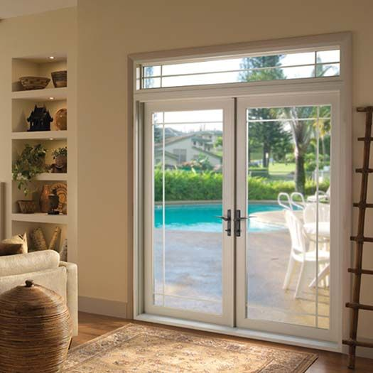 41 best images about new home on pinterest vinyls james for Double patio doors exterior