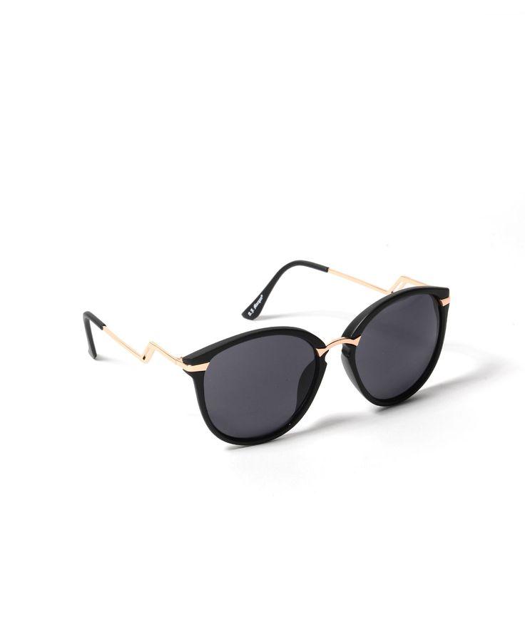 A.J. Morgan Sinclair Color Rounded Sunglasses