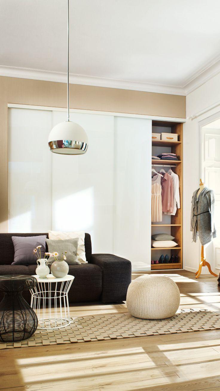die 25+ besten kleiderschrank weiß schiebetüren ideen auf, Schlafzimmer entwurf
