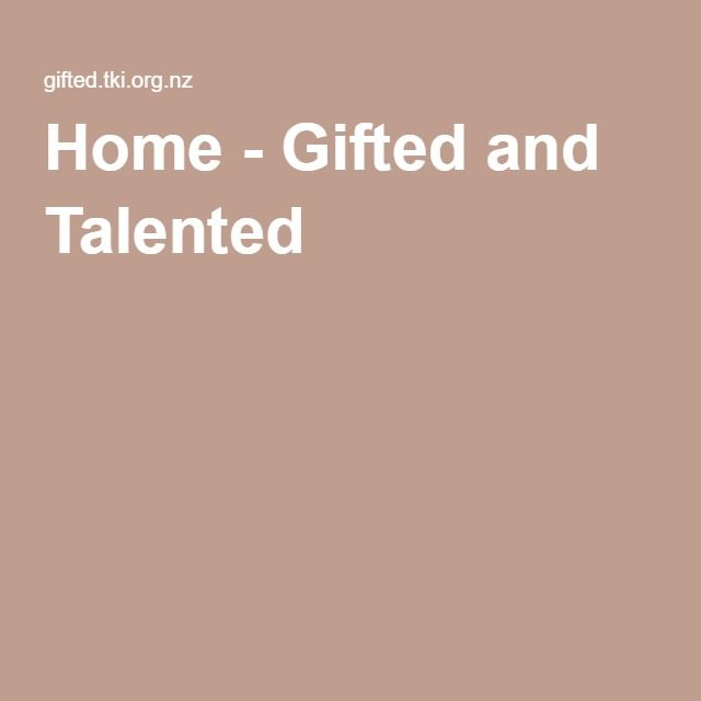 Home - Gifted and Talented