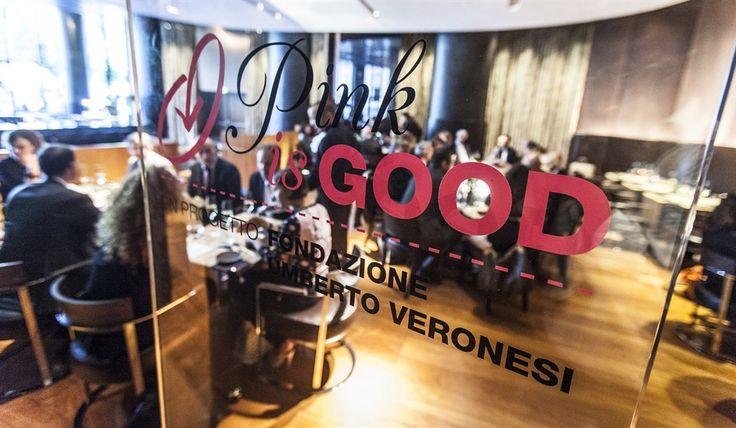 #PinkisGood Project by @Fondazione Harley Veronesi presentation in Milan.