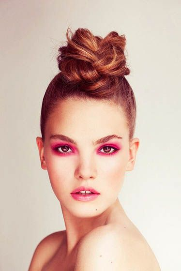 10. Messy Bun    Sexy, romantic, elegant or casual – a messy bun is a perfect hairstyle for long hair because it allows you to be totally creative. So pin …