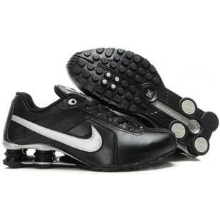 www.asneakers4u.com 438684 004 Nike Shox Conundrum Black White J02016