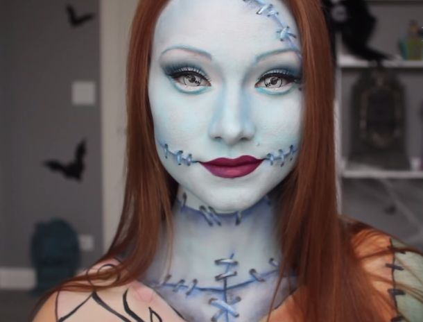 Sally Nightmare Before Christmas Makeup Kit: Five Halloween Beauty Make Up…
