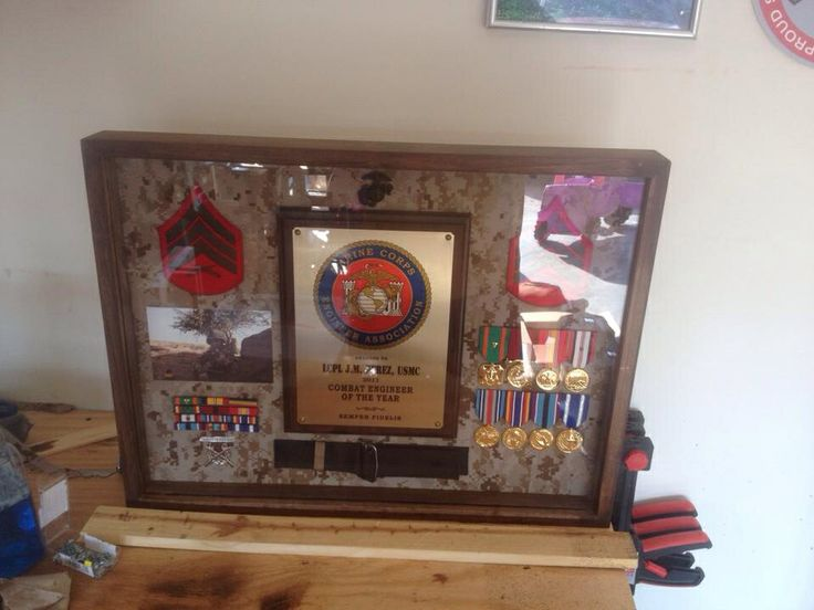 72 best images about marine corps shadow box on pinterest. Black Bedroom Furniture Sets. Home Design Ideas