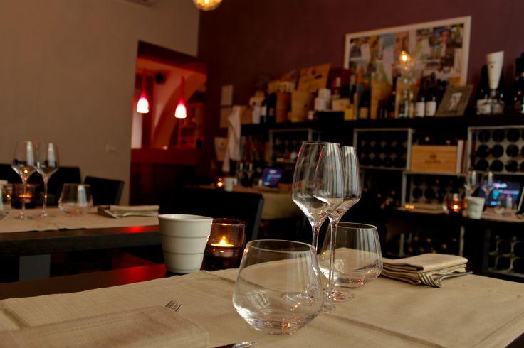 Uno scorcio nella saletta privata del ristorante Touch Florence : per chi vuole un pò di calda intimità  NB. La saletta dispone di un tavolo imperiale quadrato adatto per gruppi fino a 16 persone