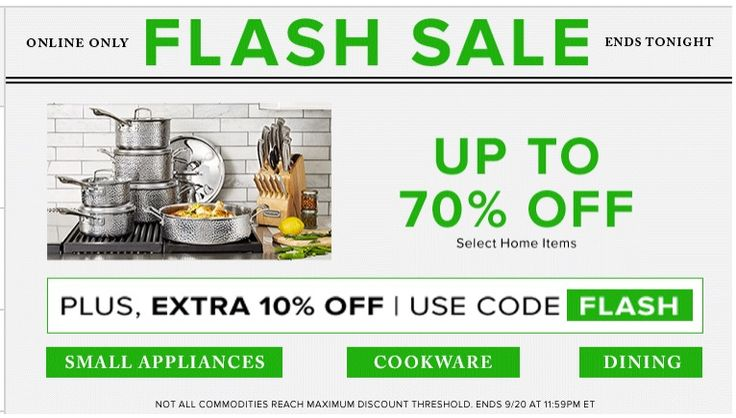 Hudsons Bay Canada Online Flash Sale: Save 70% off Select Home Items  Extra 10% off with Promo Code https://www.lavahotdeals.com/ca/cheap/hudsons-bay-canada-online-flash-sale-save-70/247675?utm_source=pinterest&utm_medium=rss&utm_campaign=at_lavahotdeals&utm_term=hottest_12