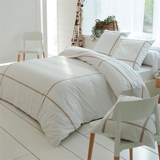 200 x 200 - Parure de lit Select Lin TRADILINGE