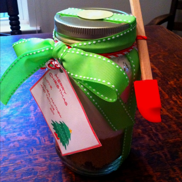 Brownie jar- holiday gift