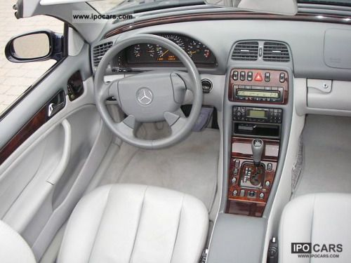 german-cars-after-1945:  1998 Mercedes CLK 320 Cabrio...