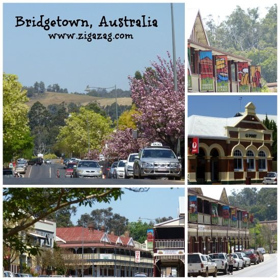 Bridgetown Western Australia another lovely town in the South West region of Western Australia.  The town plays host in November to the annual Bridgetown Blues Festival.......read all about it on the blog ZigaZag - http://zigazag.com/bridgetown-blues-festival-2/