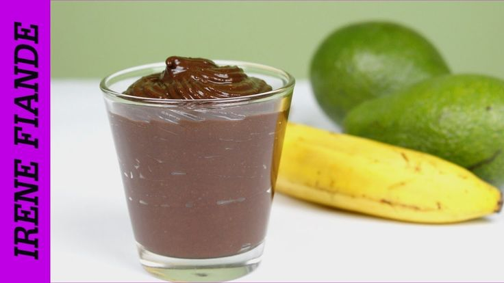 Шоколадный мусс из авокадо. Низкокалорийный рецепт десерта