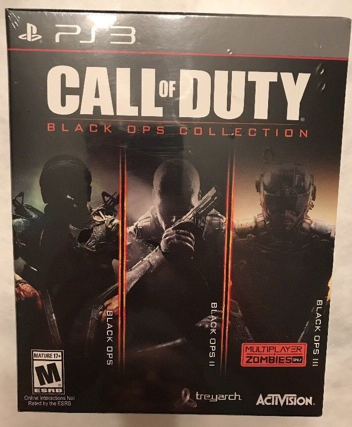 PS3 Call of Duty Black Ops 1,2,3 COD Trilogy Sony PlayStation 3 Game New Sealed 47875880061 | eBay