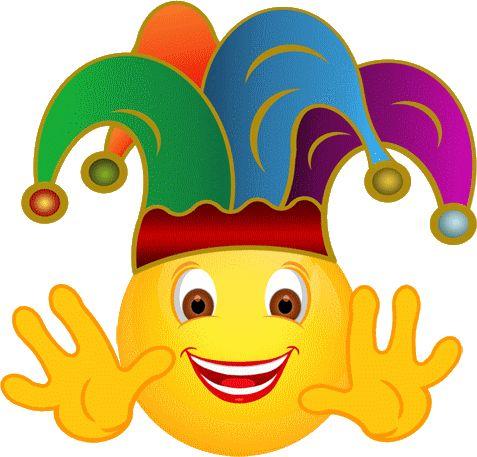 Aa Fille Joker Smiley 233 Motic 244 Ne Clipart Cartoon