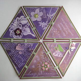 StampingMathilda: Template hexagonal - Patroon zeshoek