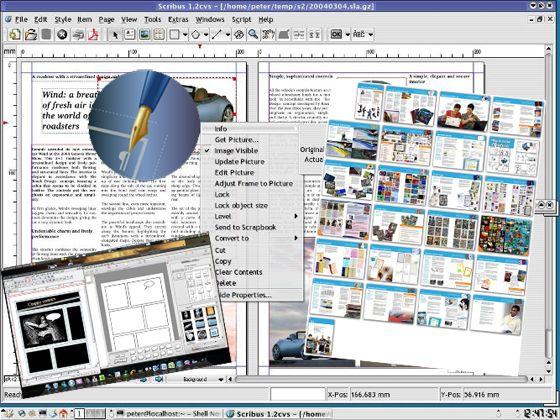 Réaliser des journaux, dépliants, plaquettes, livres et magazines (Impression, Pdf, Epub) gratuitement    avec Scribus