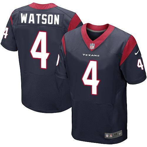 nike texans deshaun watson navy blue team color mens stitched nfl elite jersey and jake butt 80 jersey