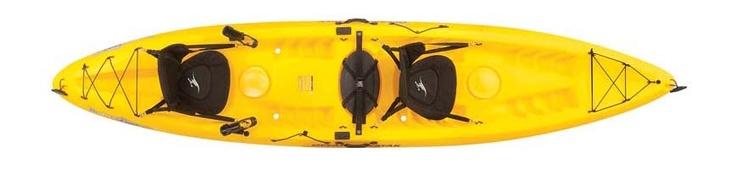 Tandom Ocean Kayak.