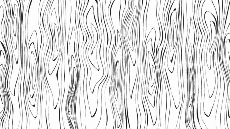 Wood texture - Adobe Illustrator tutorial. How to create simple vector w...