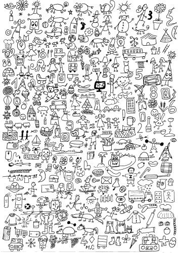 cherche et trouve - chez Camille | could be used as a large poster for students…