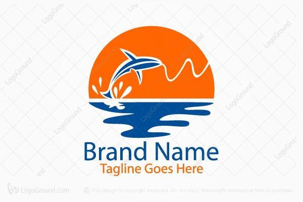 Logo for sale: Sun Fish Logo